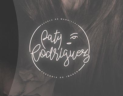 Brand Design ¨PATY RODRIGUEZ¨ Make up School