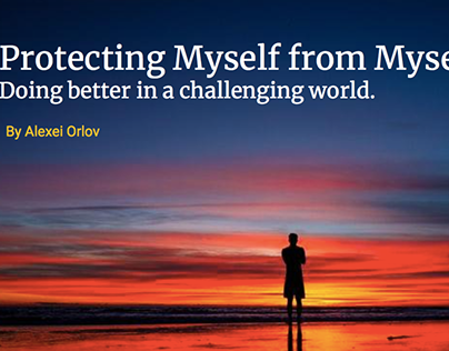 Protecting Myself from Myself