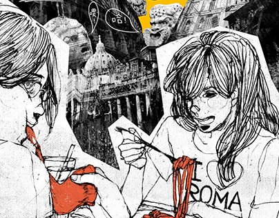 漫畫/2010,夏,我在義大利