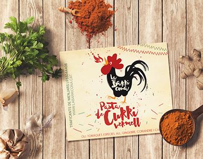 Curri Sauce Design