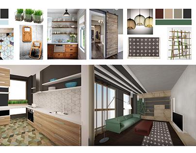 CONCEPT apartment interior