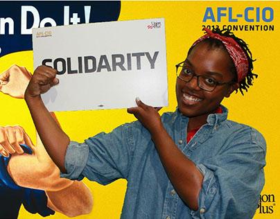 AFL-CIO Convention Booth