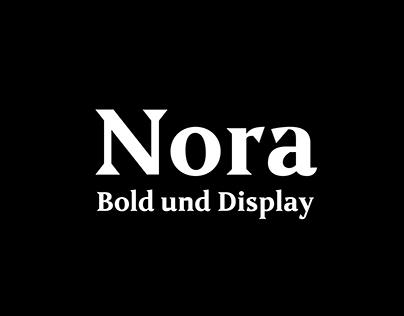 Nora – Bold & Display