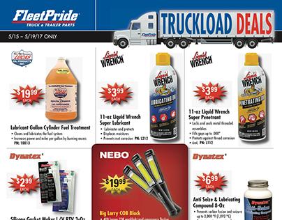 Fleetpride Truckload Deal Flyer