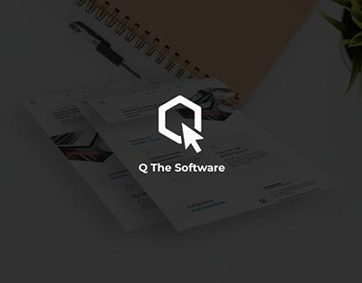 Q-Thesoftware Website Design & Development