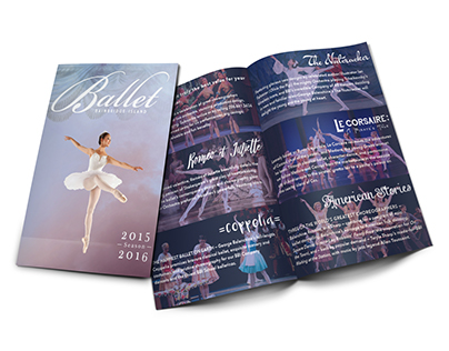 Ballet Bainbridge Island | 8-Panel Brochure