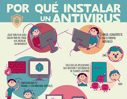 Por qué instalar un antivirus