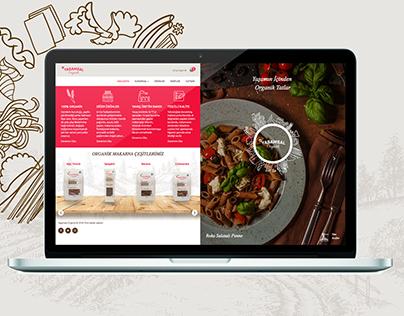Organic Pasta Web Online Shop