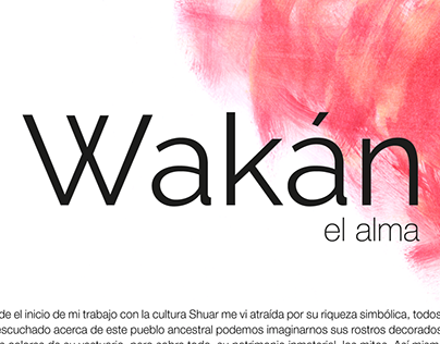 Wakán, el alma/2016