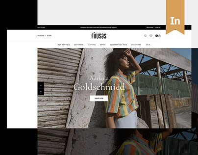 E-commerce website — Firusas