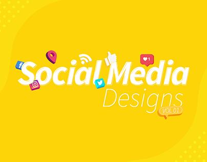 Social Media Designs | Vol 01