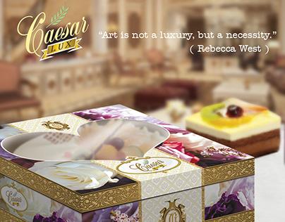 Dus Kue Cantik, Box Kue Eksklusif - Caesar Lux