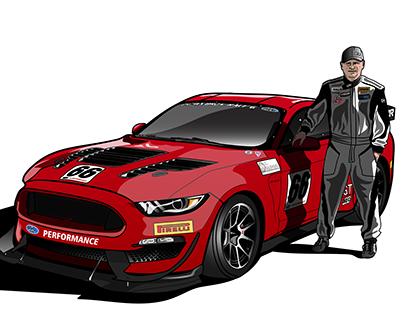Mustang Racer