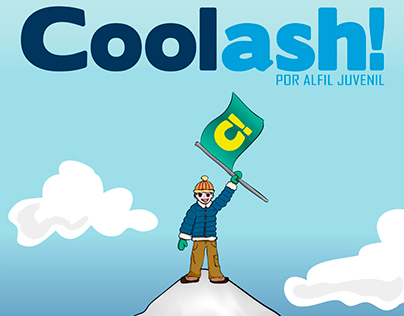 Editorial Design for Coolash! - Alfil Juvenil