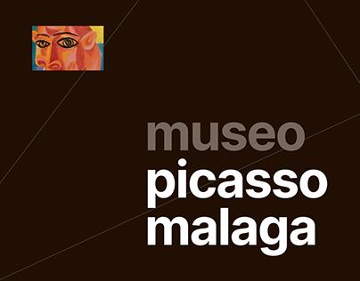 MUSEO PICASSO MALAGA website redesign