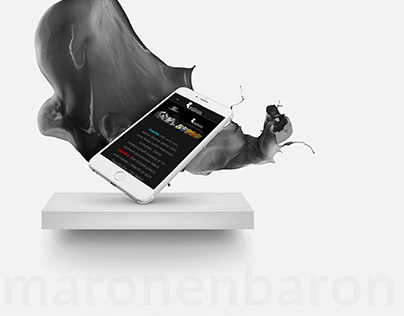 Maronen Baron Kurumsal Website Tasarımı