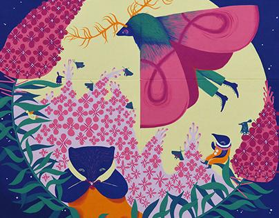 Mural for Onttolan koulu