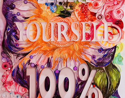 THE BELIEVE! - PAPER QUILLING ARTWORK