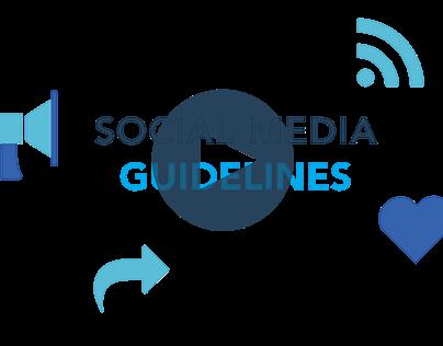 Social Media Guidelines Video