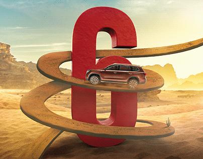 MG Car - Iraq | 6 Years warranty Digital campaign