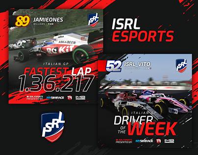 ISRL Esports - Brand, Social Media, More.