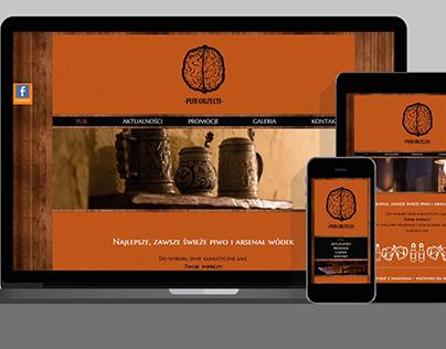 Strona internetowa / Website – PUB ORZECH