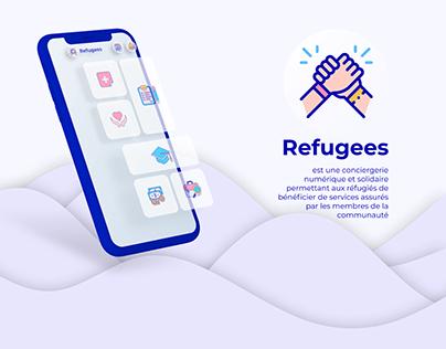 App design : Refugees