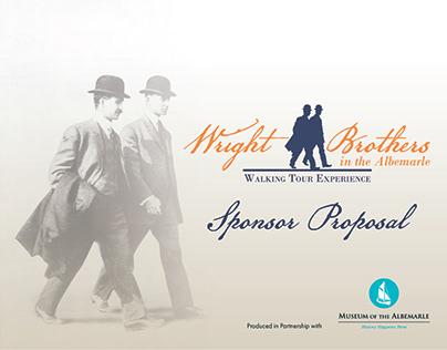 Wright Bros Walking Tour Sponsor Proposal