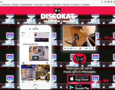 Discokat - GIF + MUSIC = MAGIC