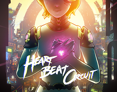 Heart Beat Circuit - Visual and Packaging Design