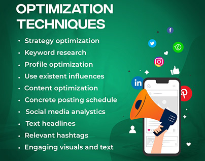 Grow business with social media optimization techniques