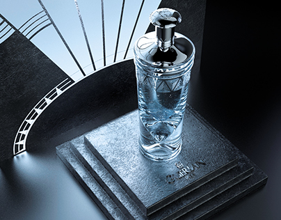 Personal project Epoque perfume Guerlain