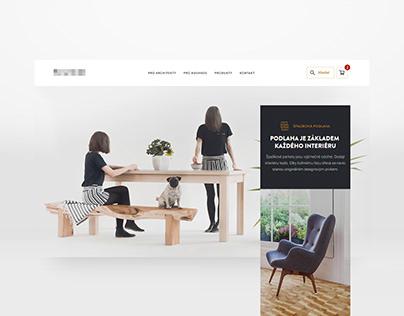 Website Design: Wooden Furniture