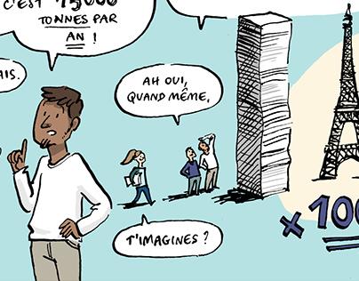 Web-série en bande dessinée — SNCF