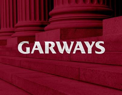 """Brand identity for """"Garways"""""""