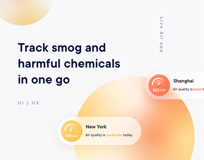 Track Smog and Harmful Chemicals - Live Air by Kaiterra
