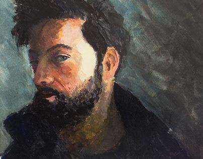 Portraits in Gouache