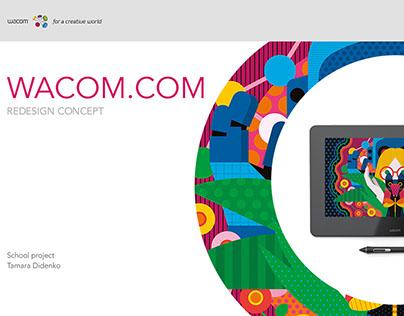 Wacom.com Content research and IA redesign
