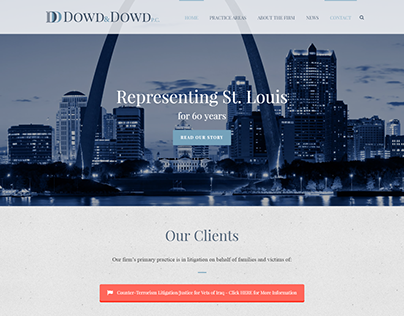 Dowd & Dowd Law Website Redesign