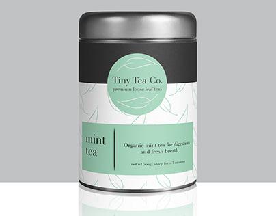 Tiny Tea Co. Concept Brand