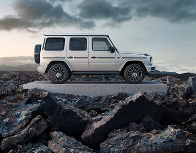 Markus Wendler: Mercedes G Class, Stronger Than Time