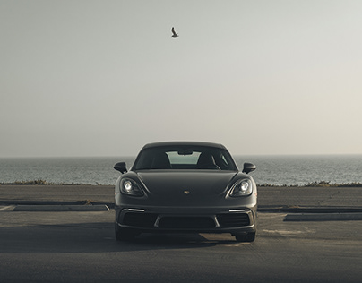 Porsche 7 1 8 Cayman - OCEAN BLUES