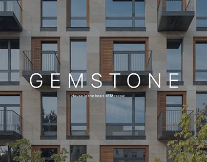 Website design concept GEMSONE