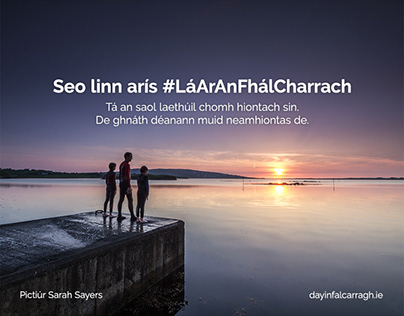 An Fál Carrach Town Marketing Promotion