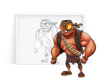 Character Design | Rawr!!