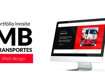 Web Design - Site MB Transportes