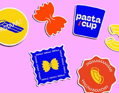 Pasta/Cup branding