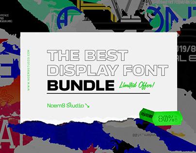 The Best Display Font Bundle