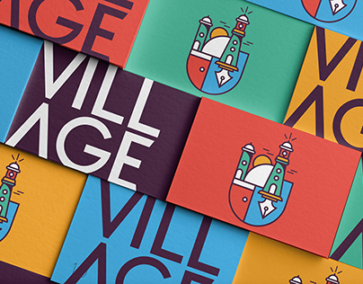 VILLAGE branding