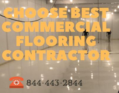Choose Best Commercial Flooring Contractor in Florida